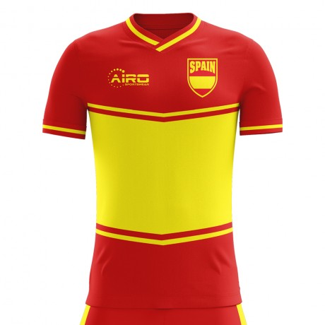 2018-2019 Spain Flag Home Concept Football Shirt