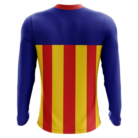 2018-2019 Catalunya Long Sleeve Home Concept Football Shirt