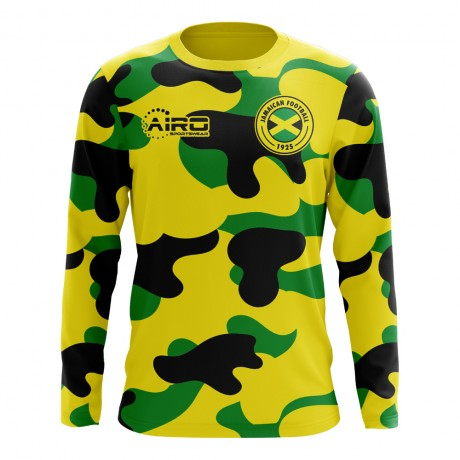 2018-2019 Jamaica Long Sleeve Home Concept Football Shirt
