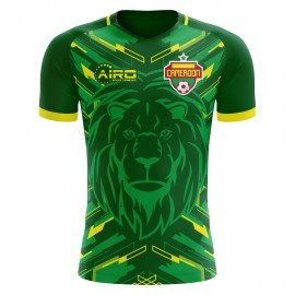 2020-2021 Cameroon Home Concept Football Shirt