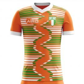 2020-2021 Ivory Coast Home Concept Football Shirt