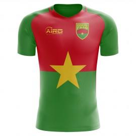 619715b2a 2018-2019 Burkina Faso Home Concept Football Shirt (Kids)