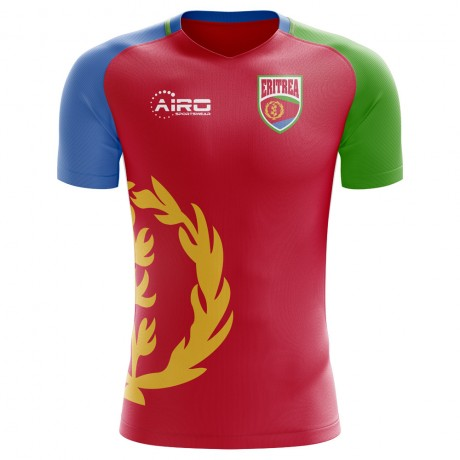 2018-2019 Eritrea Home Concept Football Shirt