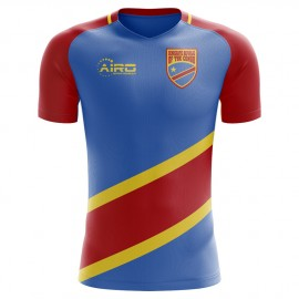 2018-2019 DR Congo Home Concept Football Shirt - Adult Long Sleeve