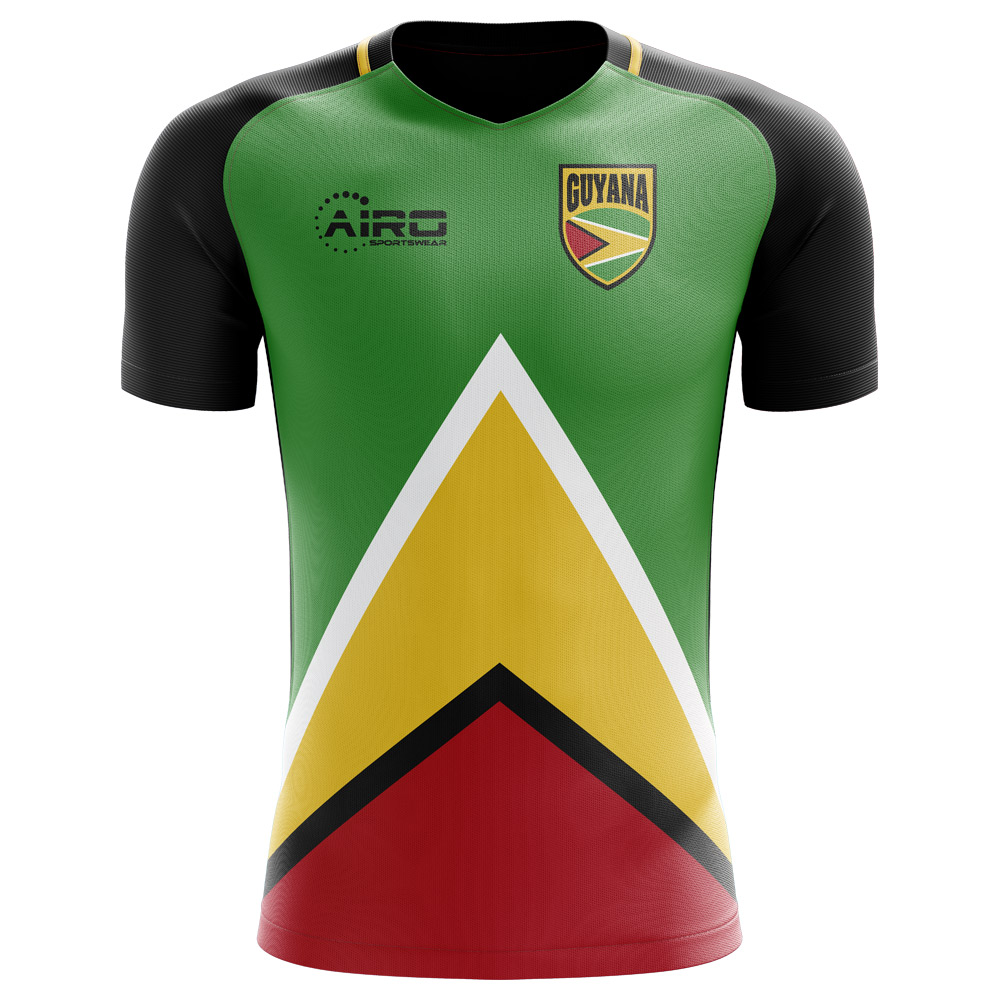 2018-2019 Guyana Home Concept Football Shirt - Kids