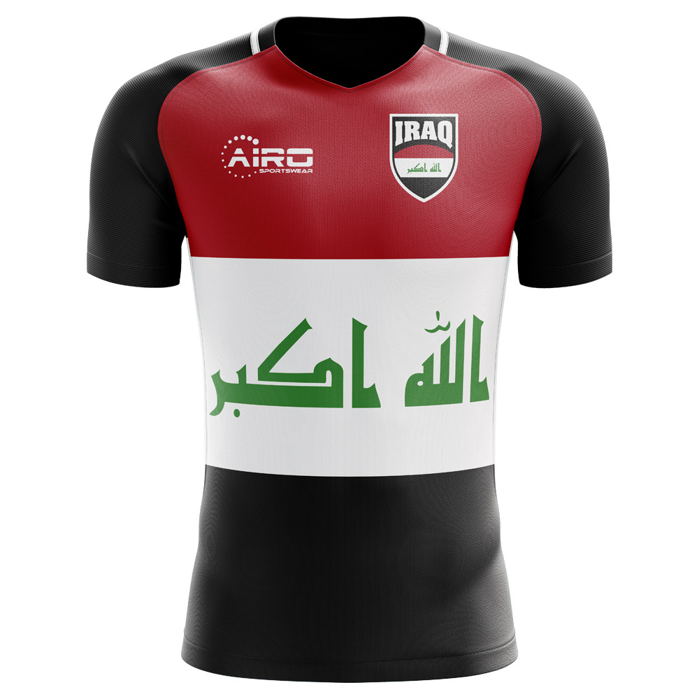 737bdc7e84a0 2018-2019 Iraq Home Concept Football Shirt (Kids)