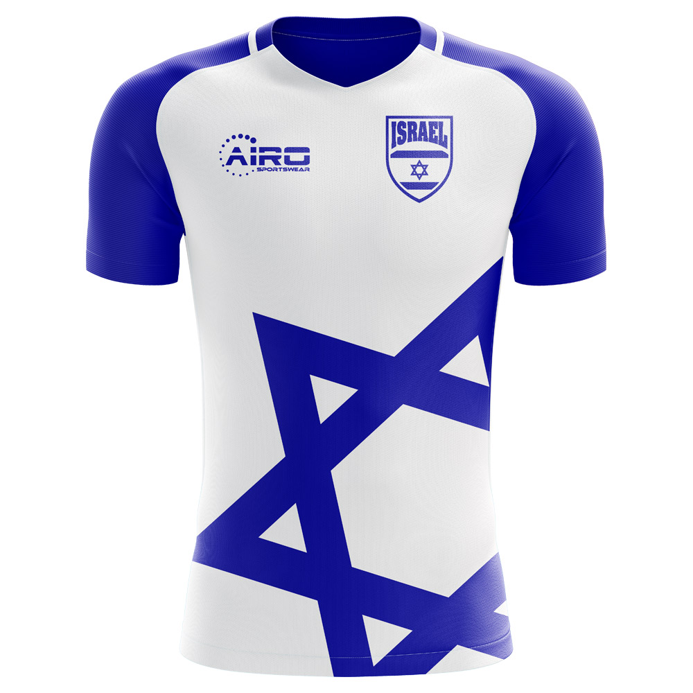 2018-2019 Israel Home Concept Football Shirt (Kids)