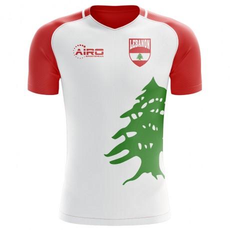 2018-2019 Lebanon Home Concept Football Shirt - Kids