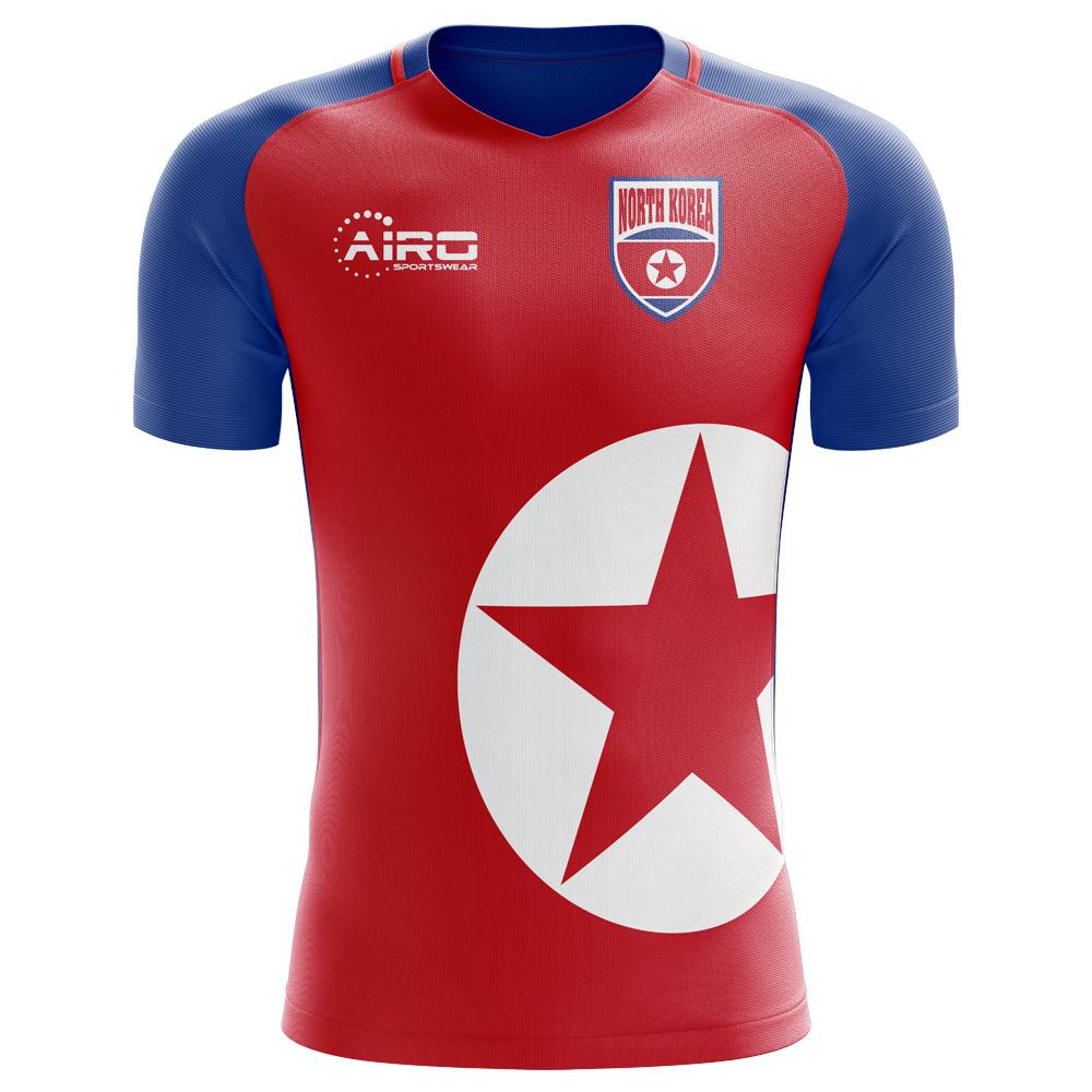 57033b3d0 2018-2019 North Korea Home Concept Football Shirt (Kids)