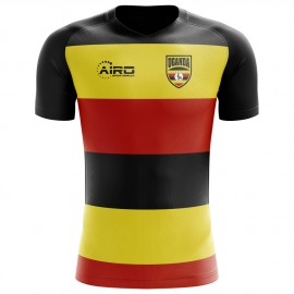 2018-2019 Uganda Home Concept Football Shirt - Womens