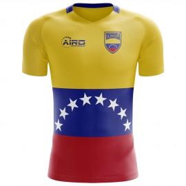2020-2021 Venezuela Home Concept Football Shirt