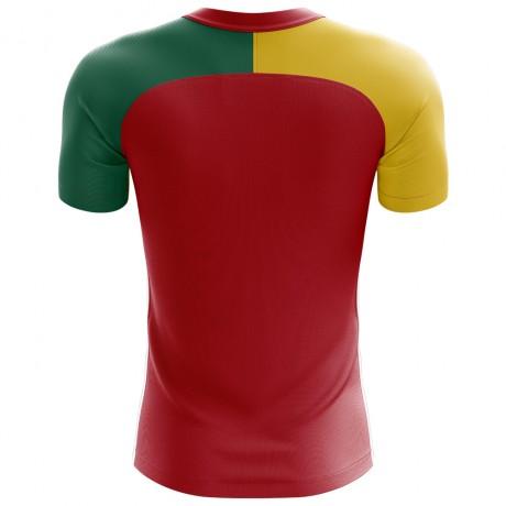 2018-2019 Cameroon Flag Concept Football Shirt