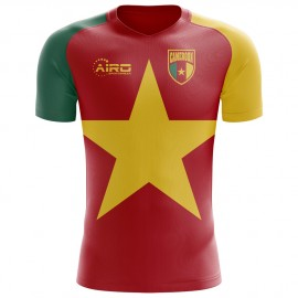 2020-2021 Cameroon Flag Concept Football Shirt (Kids)