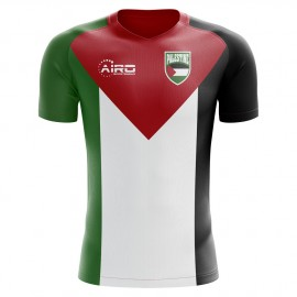2018-2019 Palestine Home Concept Football Shirt