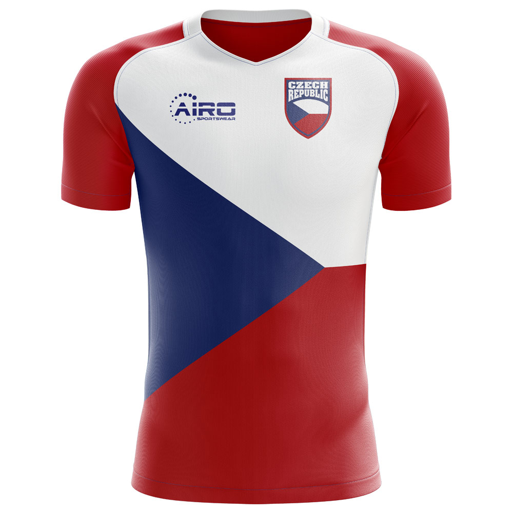 406e94db6 2018-2019 Czech Republic Home Concept Football Shirt (Kids)