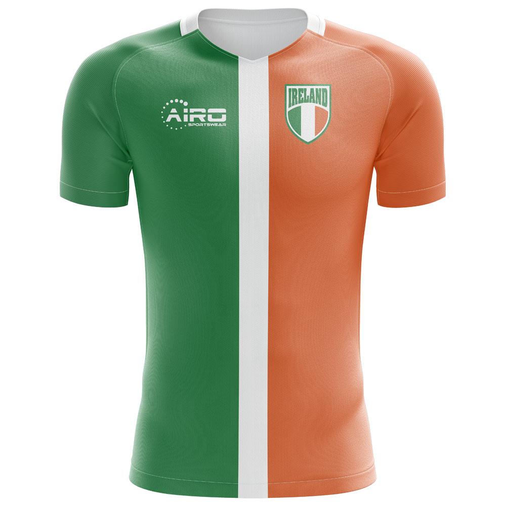 2020-2021 Ireland Flag Concept Football Shirt