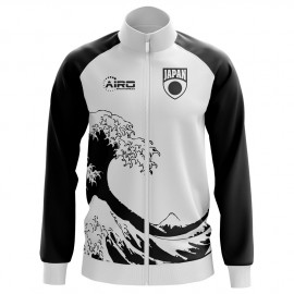 Japan Concept Football Track Jacket (White) - Kids