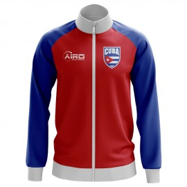 Cuba Concept Football Track Jacket (Red) - Kids