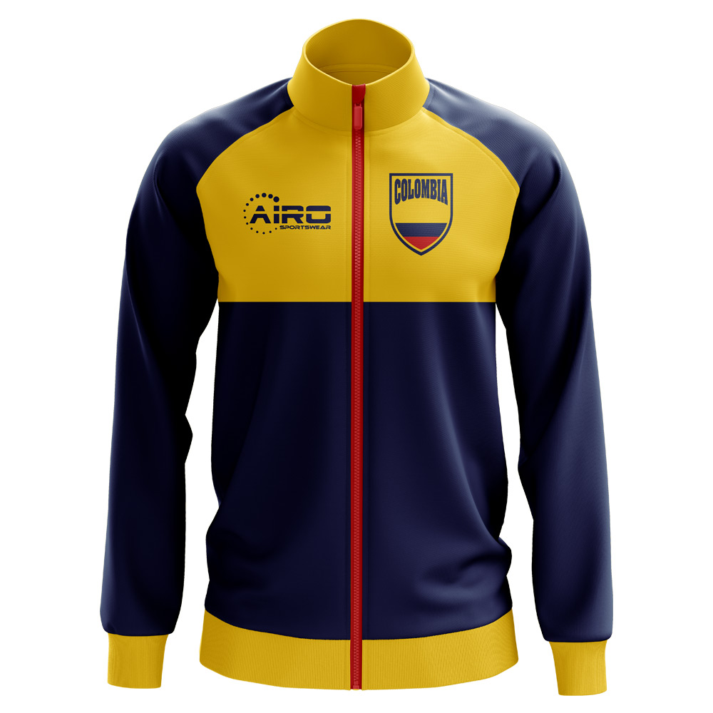 4bea6415b Colombia Concept Football Track Jacket (Navy) - Kids