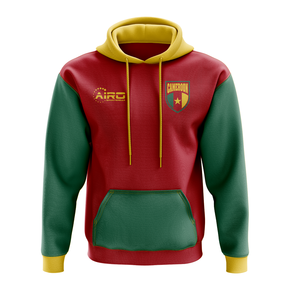 Cameroon Concept Country Football Hoody (Red)