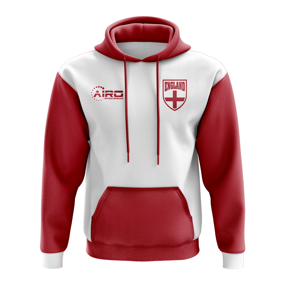 Airosportswear Airdrie Established Football Hoody White
