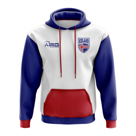 Iceland Concept Country Football Hoody (White)