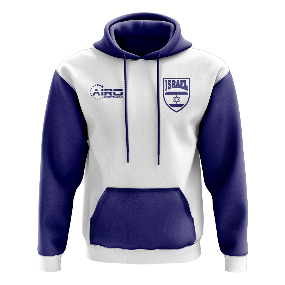 Isreal Concept Country Football Hoody (White)