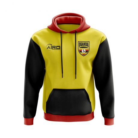 Uganda Concept Country Football Hoody (Yellow)