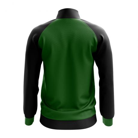 Palestine Concept Football Track Jacket (Green) - Kids