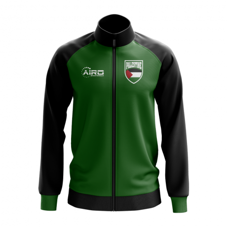 Palestine Concept Football Track Jacket (Green) - Kids