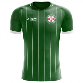 a7942d522 2018-2019 Northern Ireland Home Concept Football Shirt