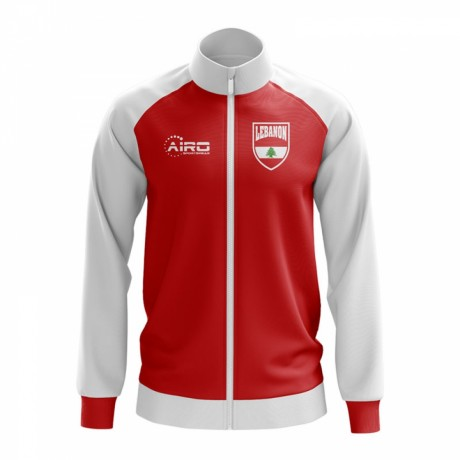 Lebanon Concept Football Track Jacket (Red)