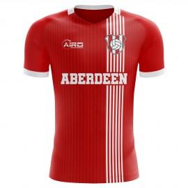 2020-2021 Aberdeen Home Concept Football Shirt
