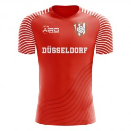 2020-2021 Fortuna Dusseldorf Home Concept Football Shirt - Kids