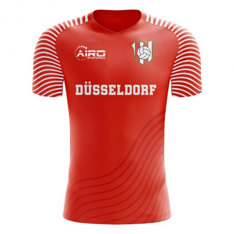 2019-2020 Fortuna Dusseldorf Home Concept Football Shirt - Kids