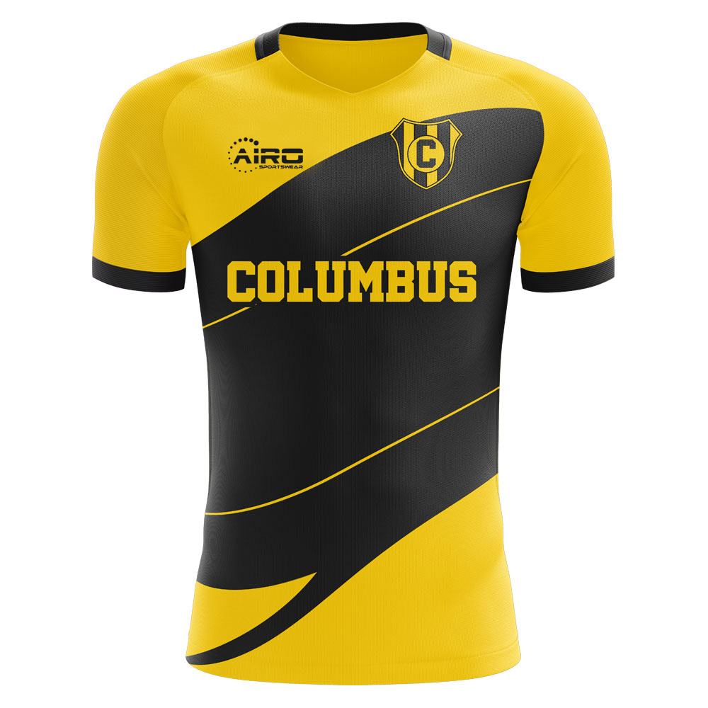 2019-2020 Columbus Home Concept Football Shirt