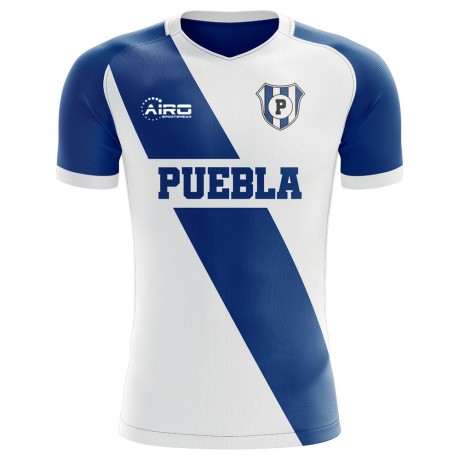 2020-2021 Puebla Home Concept Football Shirt