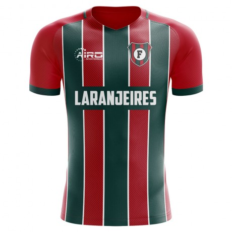 2019-2020 Fluminense Home Concept Football Shirt
