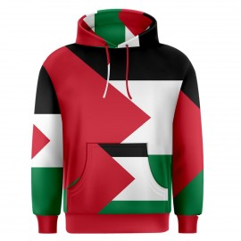 Palestine Sublimated Flag Hoody