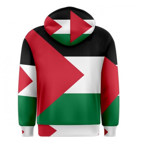 Palestine Sublimated Flag Hoody