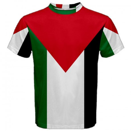 Palestine Flag Sublimated Sports Jersey