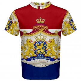 Netherlands Coat of Arms Sublimated Sports Jersey