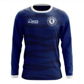 2018-2019 Scotland Long Sleeve Home Concept Football Shirt