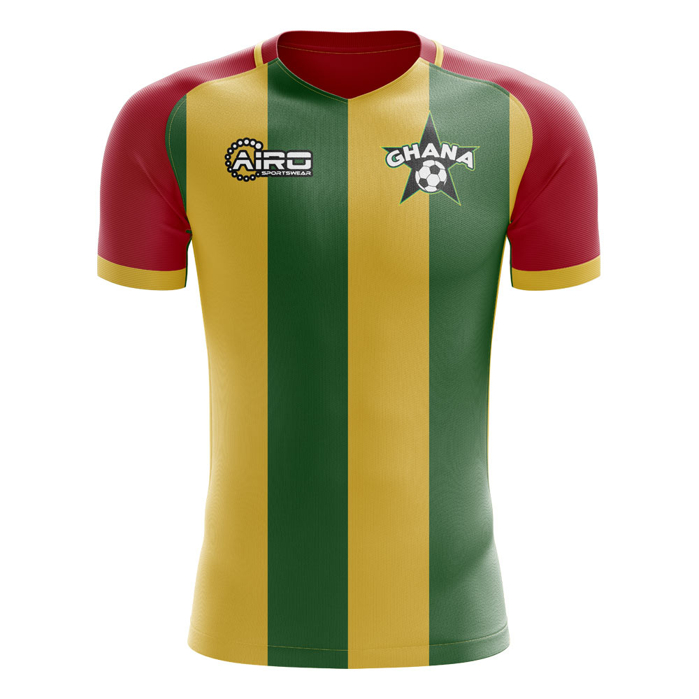 2019-2020 Ghana Home Concept Football Shirt