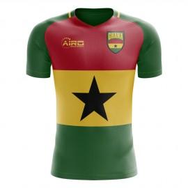 2019-2020 Ghana Flag Concept Football Shirt