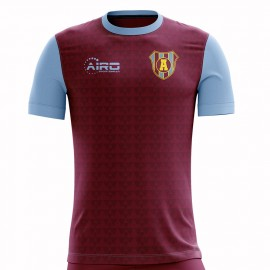 2019-2020 Villa Home Concept Football Shirt - Kids