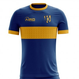2020-2021 Boca Juniors Home Concept Football Shirt - Adult Long Sleeve