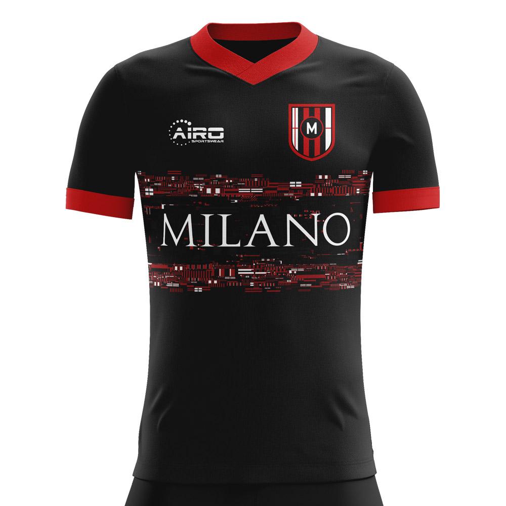 2019-2020 Milan Third Concept Football Shirt