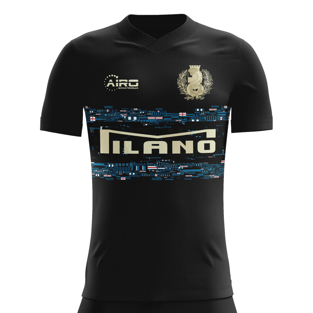 the latest 8eb9a 27f1c 2019-2020 Inter Third Concept Football Shirt - Kids (Long ...