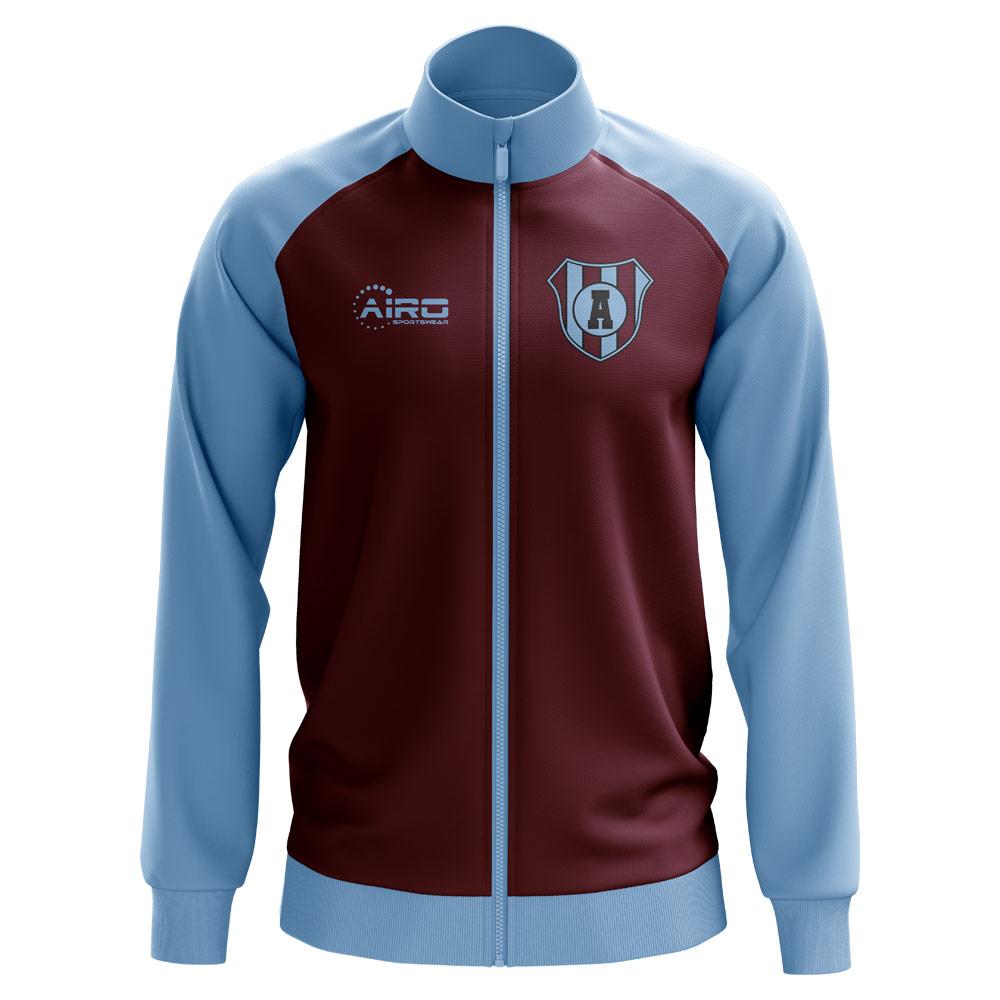 3b38fa54df6 Villa Concept Football Track Jacket (Maroon)